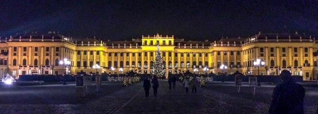 Schönbrunn Vienna Austria Europe City Break Travel Christmas Market