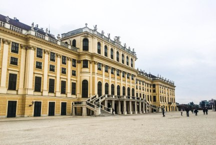 Schönbrunn Vienna Austria Europe City Break Travel Christmas Market