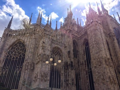 Duomo cathedral Milan Italy city break travel metropolitan fashion