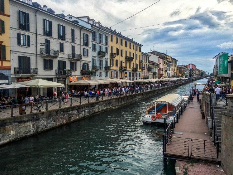 Milan Italy city break travel metropolitan canals venice borough
