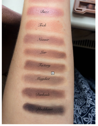 Urban Decay Naked 3 Rose Gold Eyeshadow Palette Makeup Cosmetics Beauty
