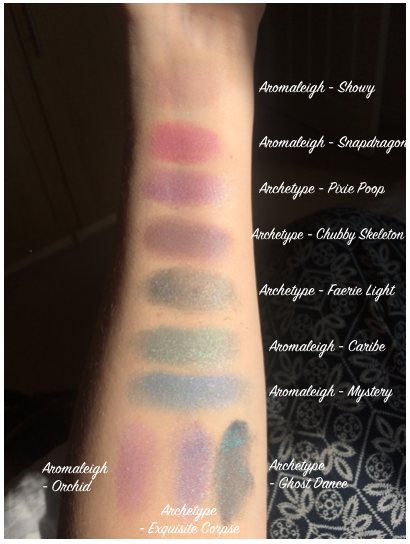 Makeup Cosmetics Eyeshadow Aromaleigh Archetype Mineral