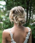 Bridal Hair Boho Updo