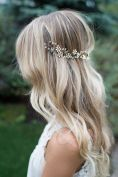 Bridal Wedding Hair Boho Long Flowing