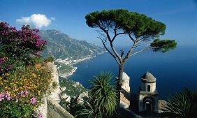 Italy Sorrento Positano Capri Amalfi Coast Ocean