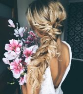 Bridal Wedding Hair Boho Glam Plait