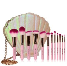 Spectrum Makeup Brushes Cosmetics Mermaid Clam Shell