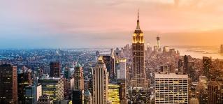 City Skyline Manhattan USA
