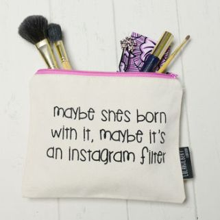 Instagram Slogan Quote Cosmetics