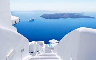 Santorini Greece Ocean View