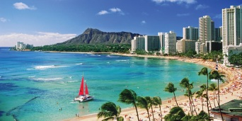 Hawaii USA Pacific Ocean