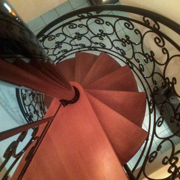 Spiral Staircase French Villa