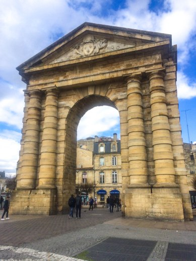 Arch in Bordeaux France