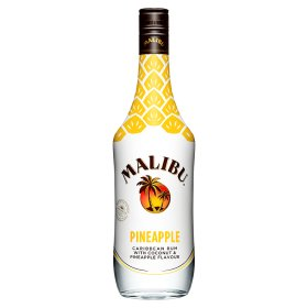 Pineapple Malibu Rum Drink Alcohol Cocktail