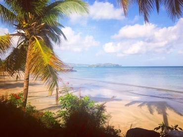 St Lucia Beach Ocean View Summer Caribbean