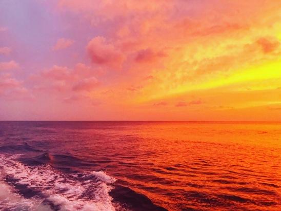 St Lucia ocean sunset caribbean beautiful