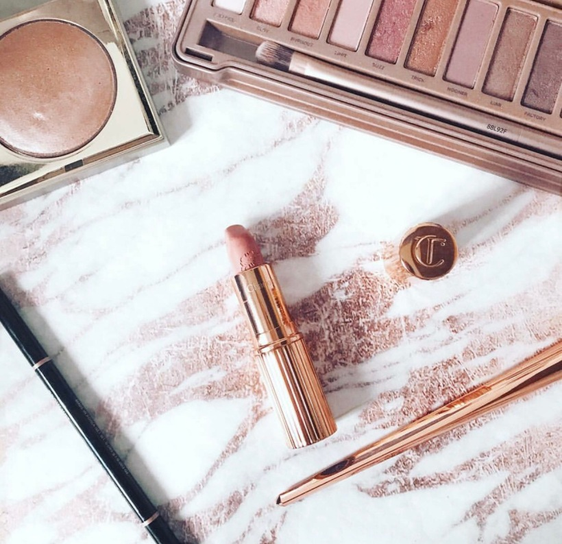 Makeup Cosmetics Holiday Travel Rose Gold