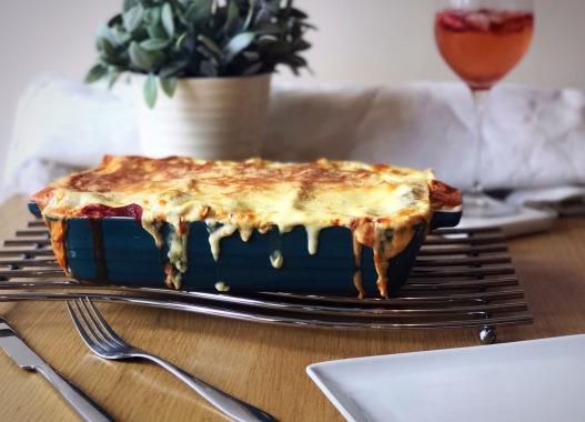 Vegetable Lasagne Italian Food Recipe