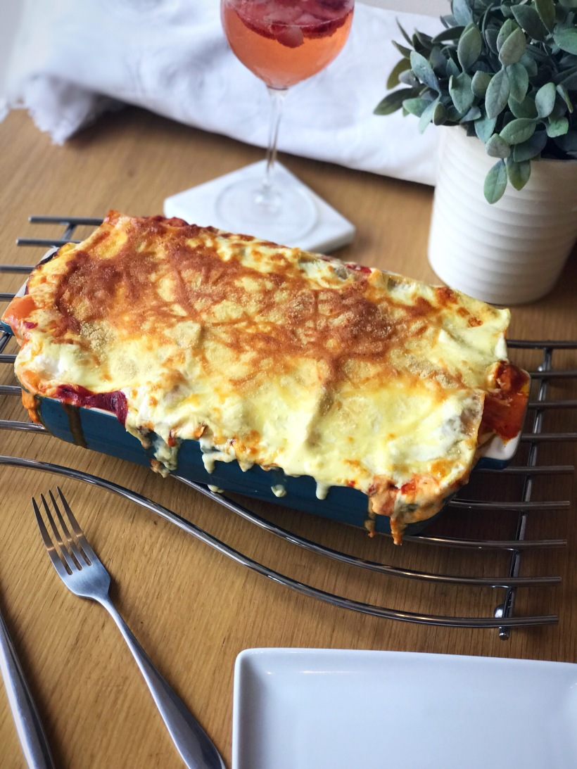 Vegetable Vegetarian Lasagne Italian Food Recipe