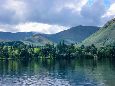 Nature View on Ullswater Lake Lake District